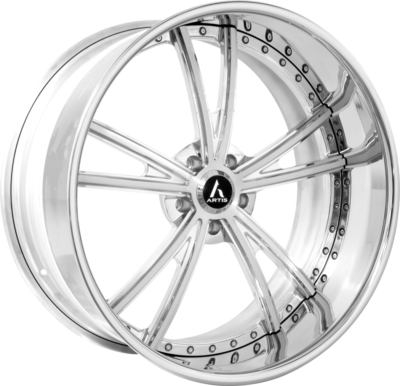 Artis Forged Corvair wheel with Brushed finish
