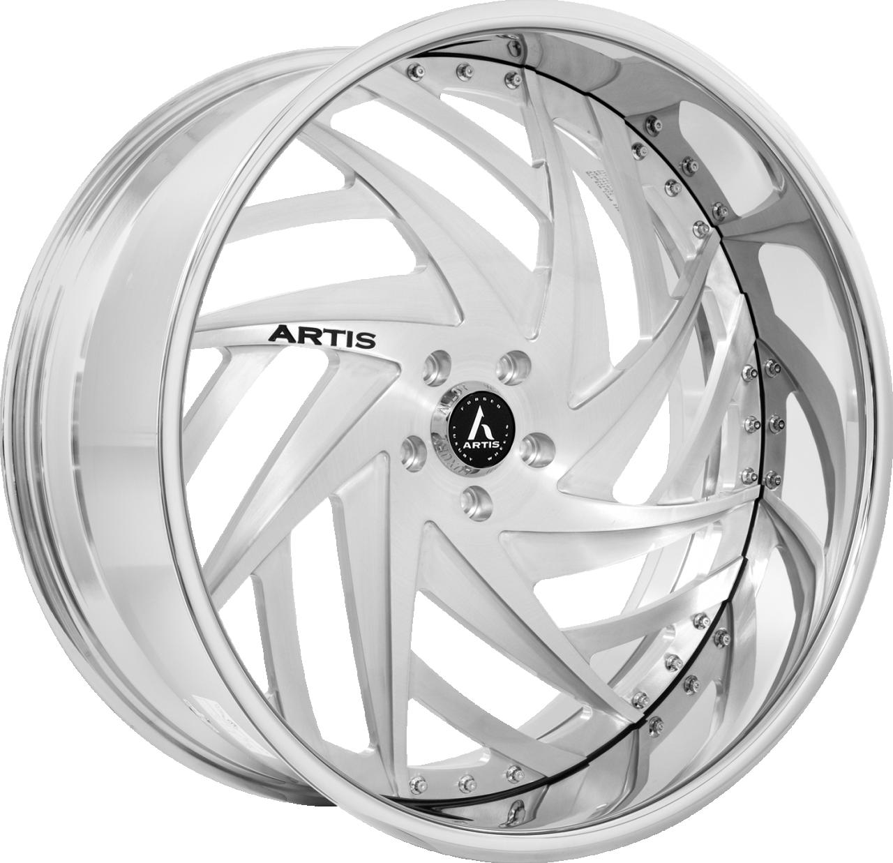 Artis Forged Bronx wheel with Brushed finish