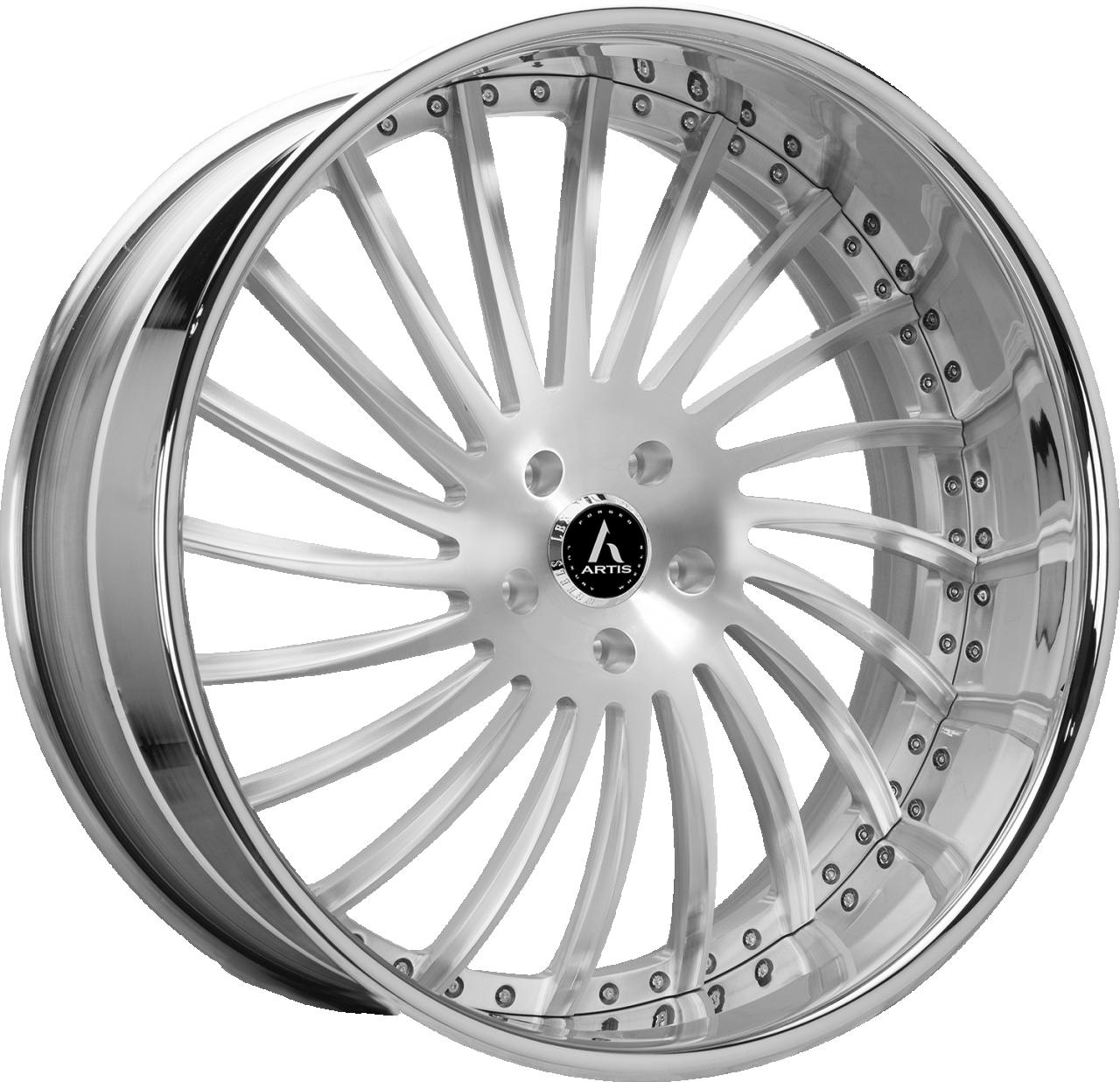 Artis Forged International wheel with Brushed finish