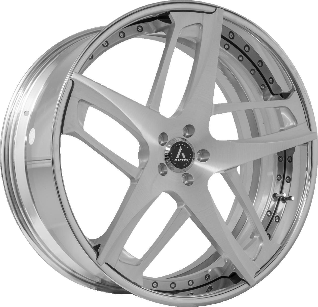 Artis Forged Bavaria wheel with Brushed finish