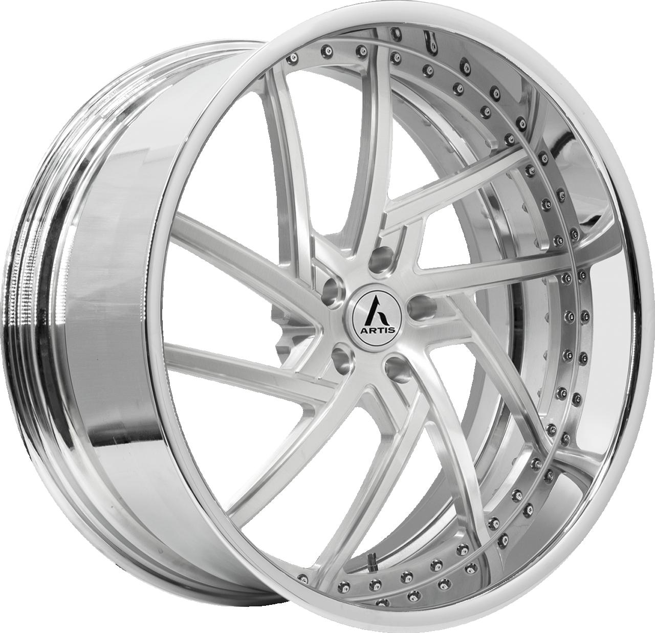 Artis Forged Fairfax-M wheel with Brushed finish