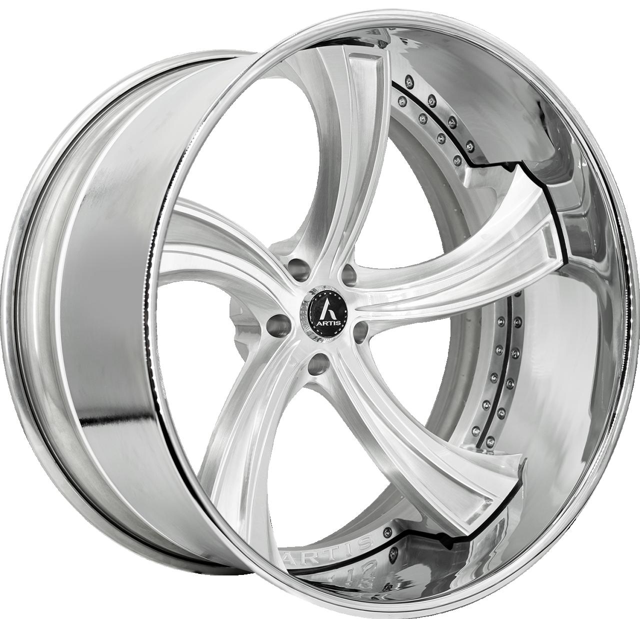 Artis Forged Kokomo wheel with Brushed finish