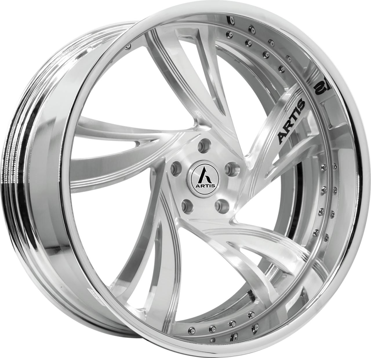 Artis Forged Kingston-M wheel with Brushed finish