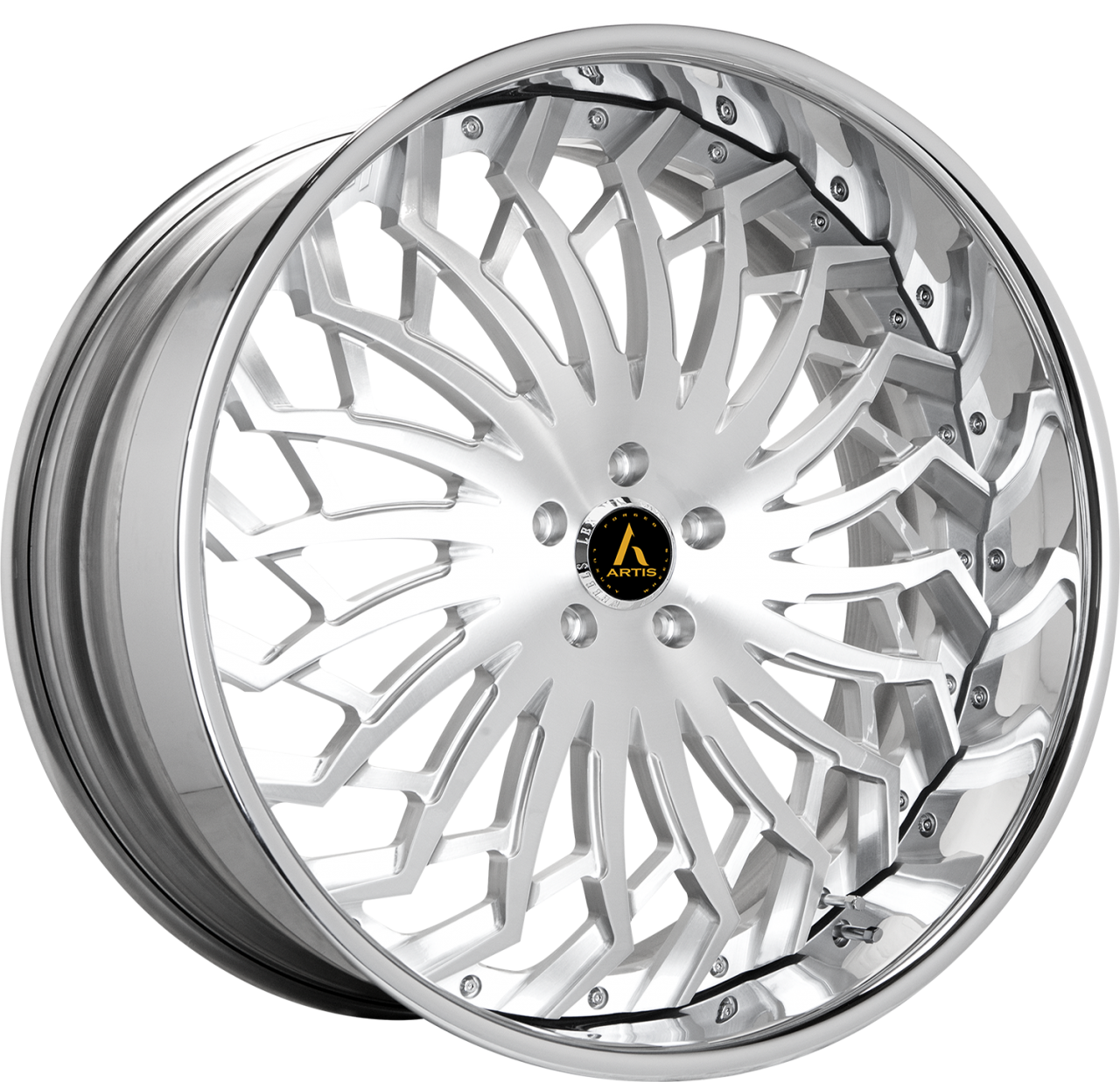 Artis Forged Spartacus wheel with Brushed finish