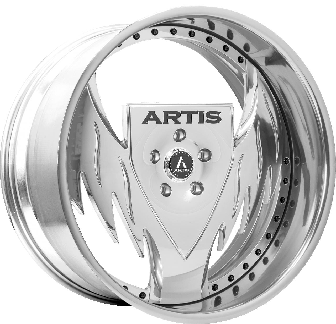 Artis Forged Batman wheel with Chrome finish