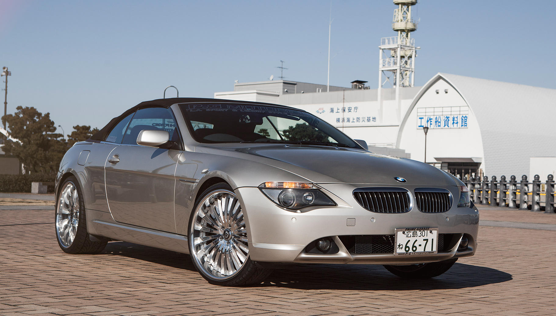 Custom LF-734 on the BMW 6-Series.