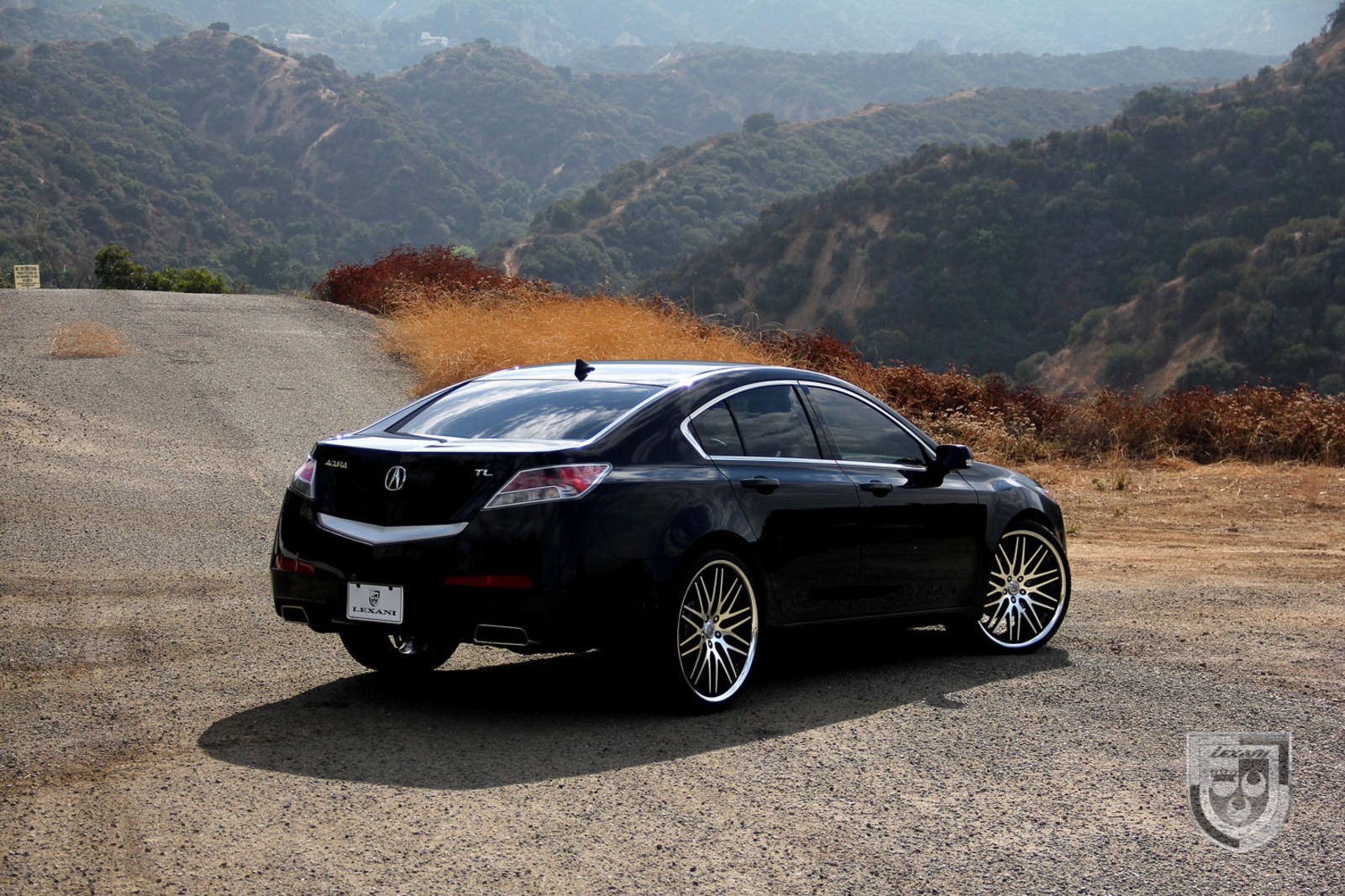 2011 black acura tl with 22 machine and black cvx 44. Black Bedroom Furniture Sets. Home Design Ideas