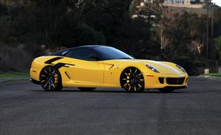 Custom LZ-101 on the 2013 Ferrari 599.