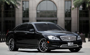 The 2012 Mercedes Benz S Class with LT-707