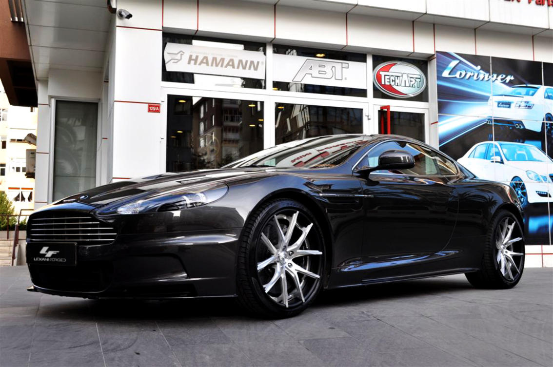 Custom LZ-102 on the Aston Martin DBS.