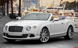 Custom LS-707 on the 2013 Bentley Continental GTC