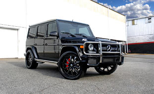 Mercedes-Benz G Wagon on color matching LF-707.