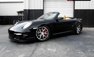 Custom LZ-102 on the 2013 Porsche turbo.