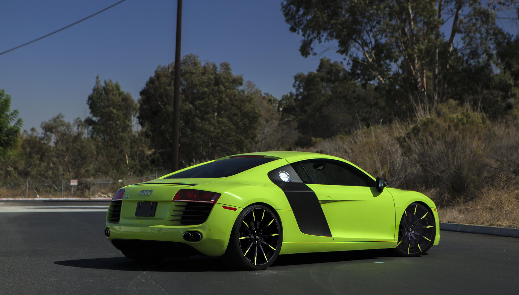 Custom LZ-101 on the Audi R8.