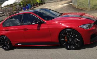 Custom CSS-15 on the 2014 BMW 3 Series.