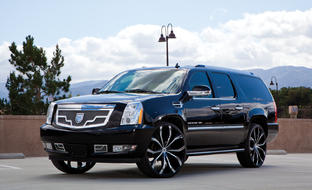 Black & Chrome Lusts on the 2014 Cadillac Escalade ESV.