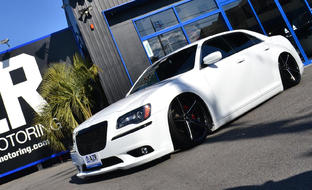 R-Four on the Chrysler 300S.