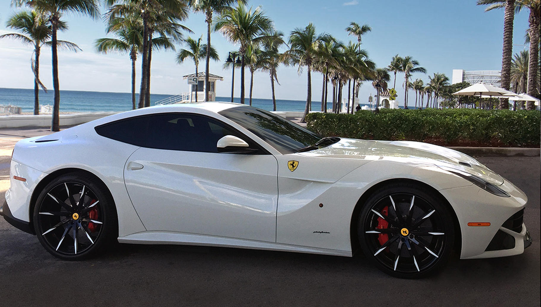 Custom LZ-101 on the Ferrari F12.