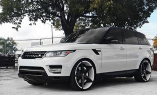 Custom R-Four on the Range rover Evoque.