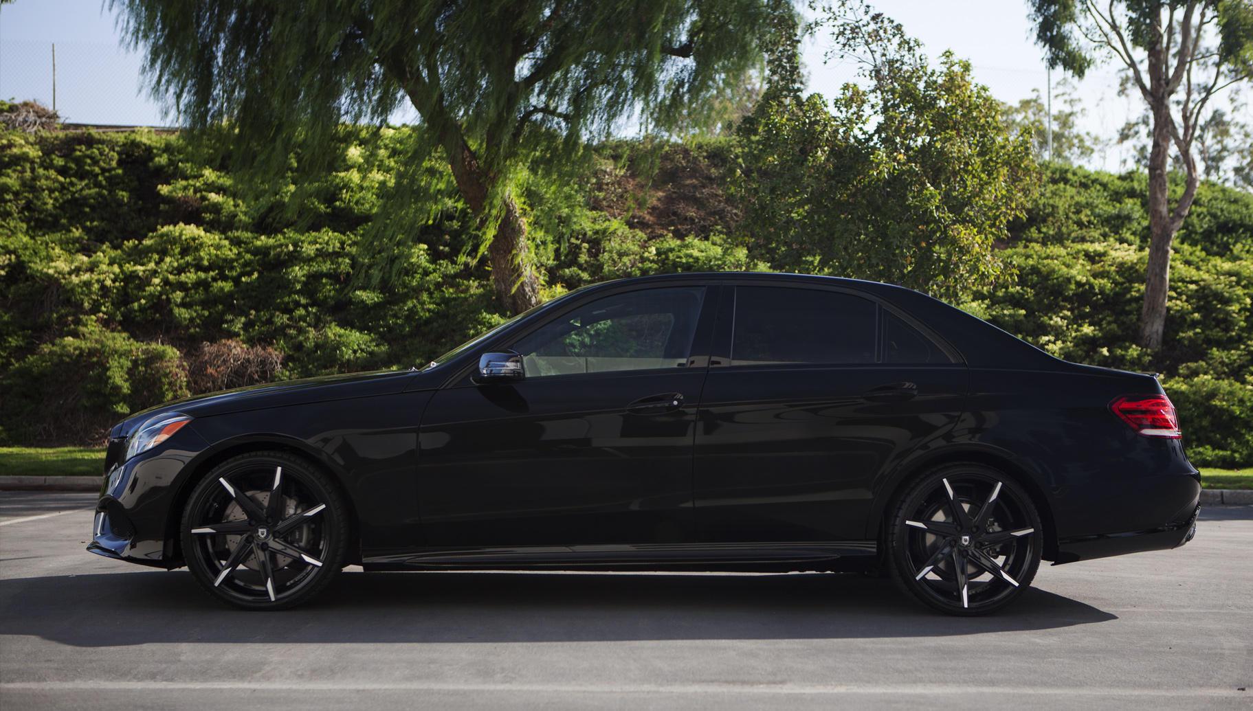 Lexani custom luxury wheels vehicle gallery 2014 for E 350 mercedes benz