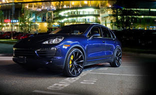 CSS-15 on the Porsche Cayenne S.