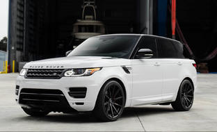 Custom CSS-15 on the Range Rover Sport Autobiography.