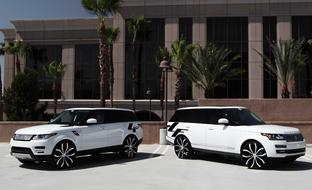 "The 2014 Range Rover Sport, with 28"" Lust.