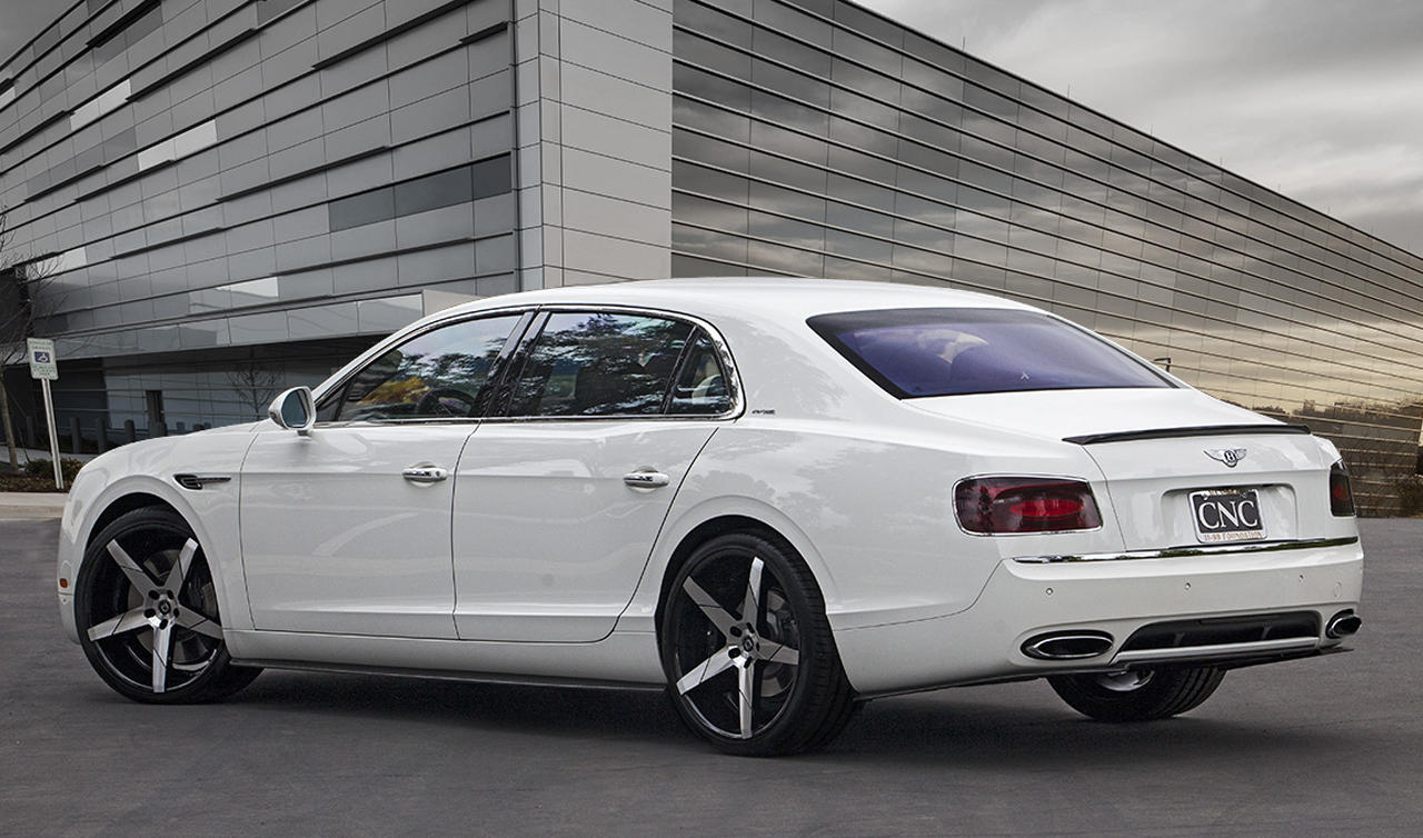 2015 Bentley Flying Spur with Invictus-Z Machine Face, Black Lip