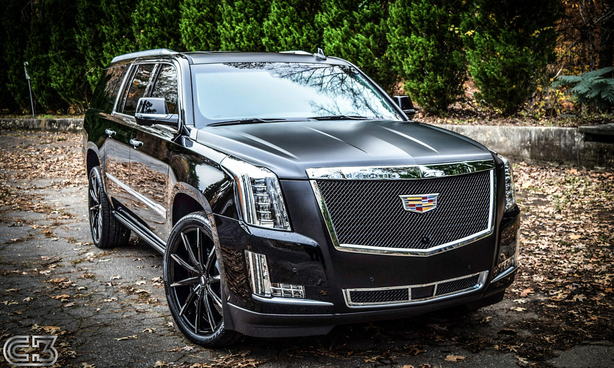2015 Cadillac Escalade on CSS-15