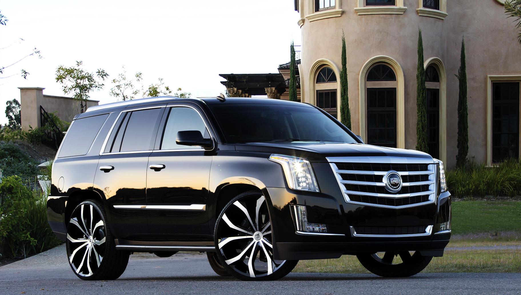Lexani Luxury Wheels   Vehicle Gallery - 2015 Cadillac Escalade