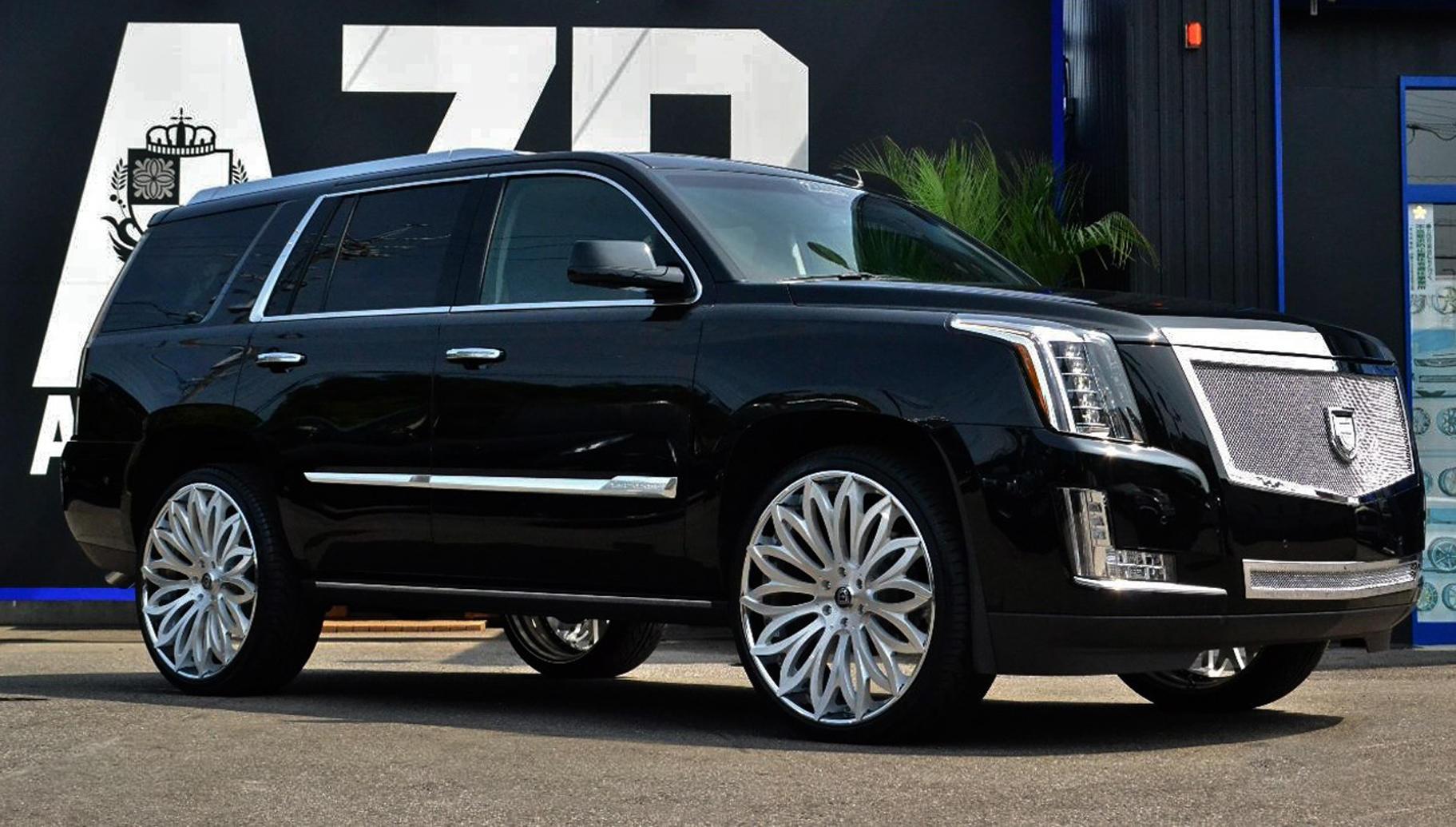 Lexani Luxury Wheels | Vehicle Gallery - 2015 Cadillac Escalade