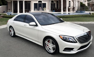 Custom LZ-105 on 2015 Mercedes S550