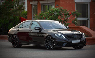 Mercedes S63 AMG on CSS-7