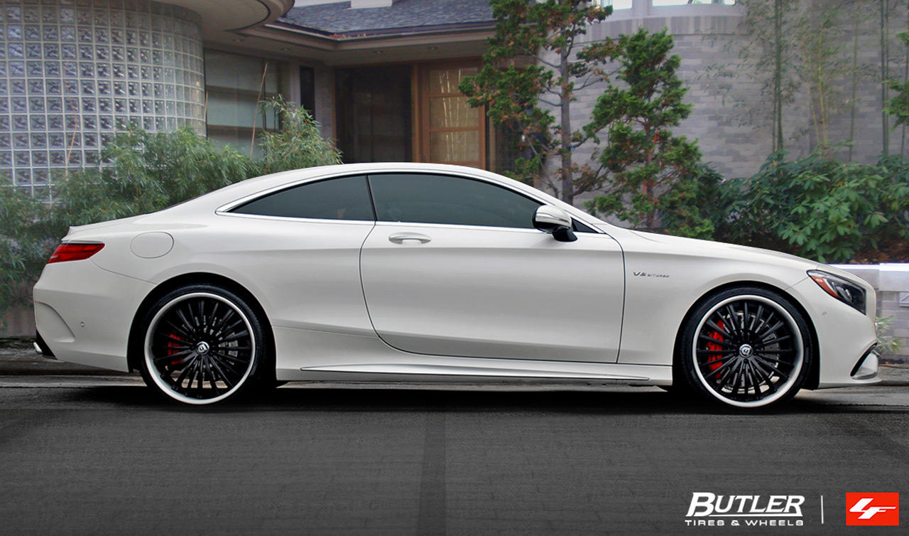 LF-722 Custom Finish on 2015 Mercedes S63 Coupe