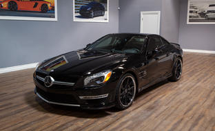 Machine and black R-Twelve on the Mercedes SL63.