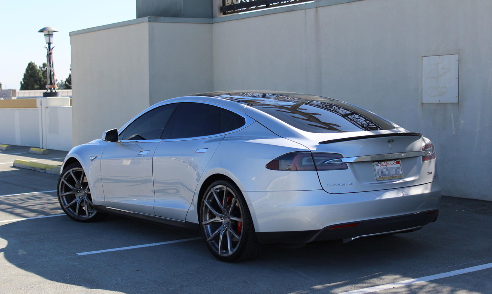 M-102 on the Tesla Model S.