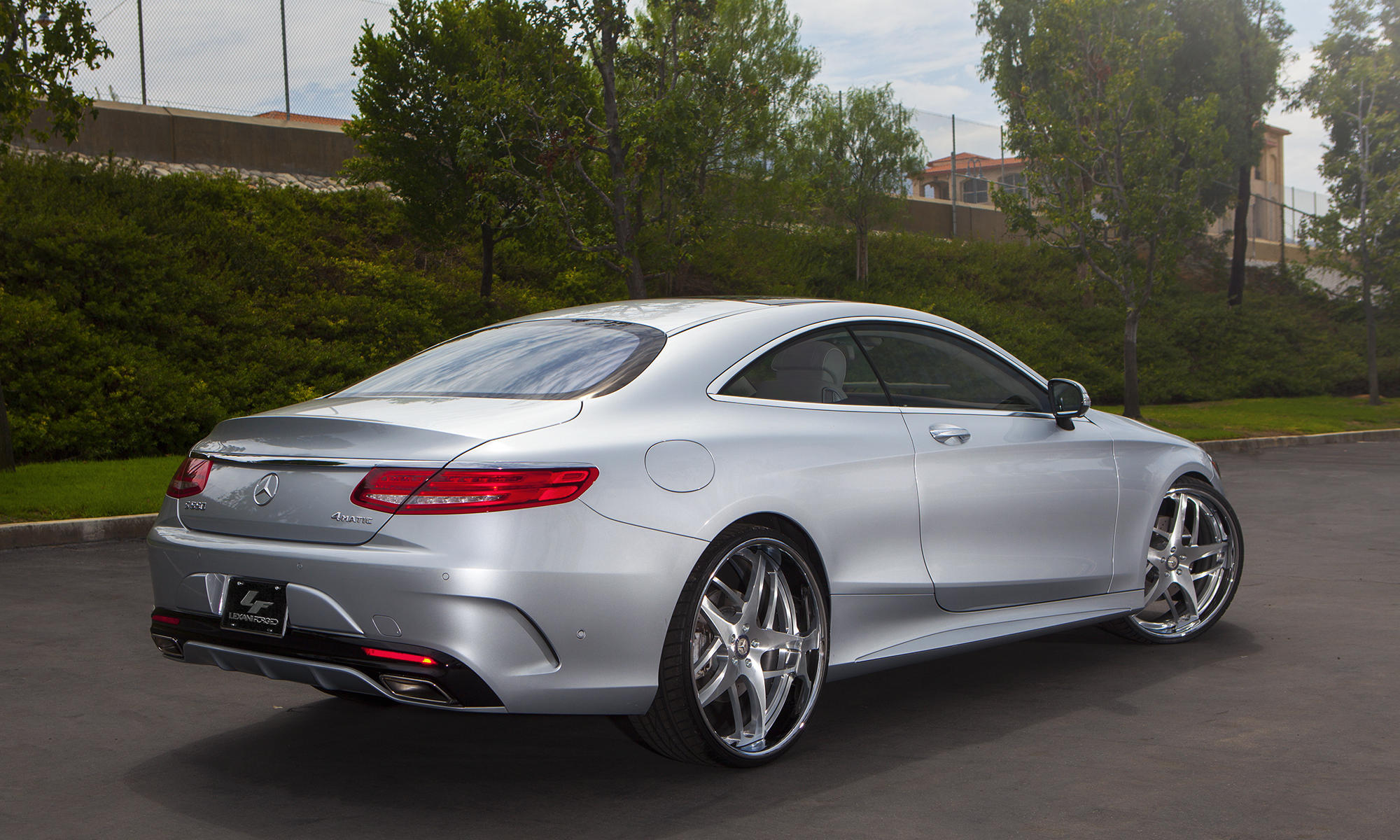 2016 Mercedes S550 Coupe on LF-746