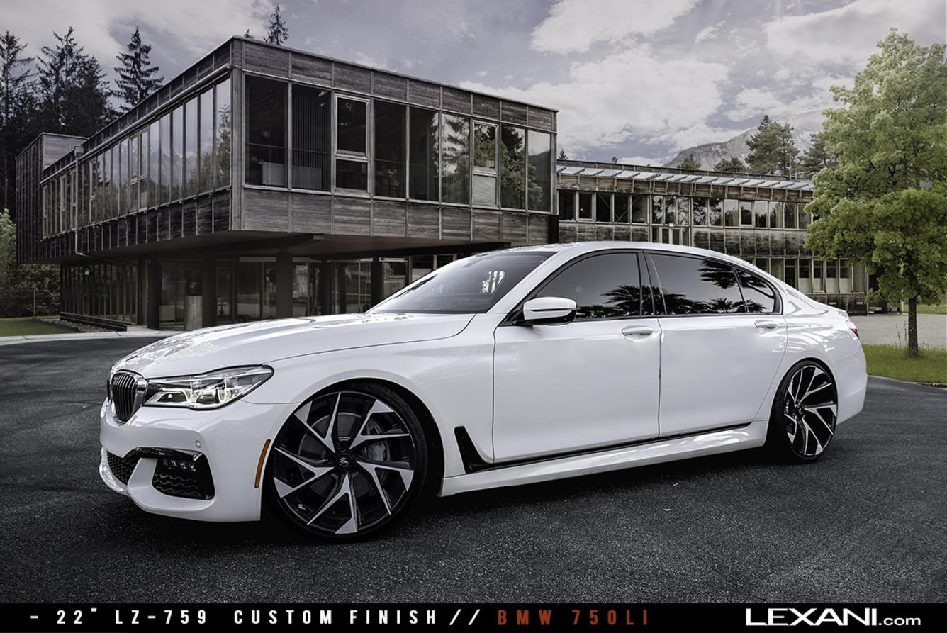 BMW 750Li on LZ-759