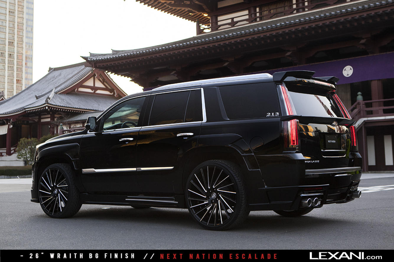 2015 Cadillac Escalade on Wraith