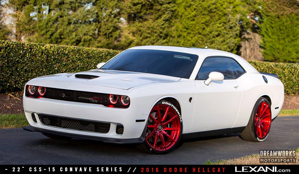2016 Dodge Hellcat on CSS-15