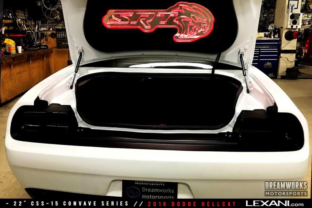 2016 Dodge Hellcat on CSS-15
