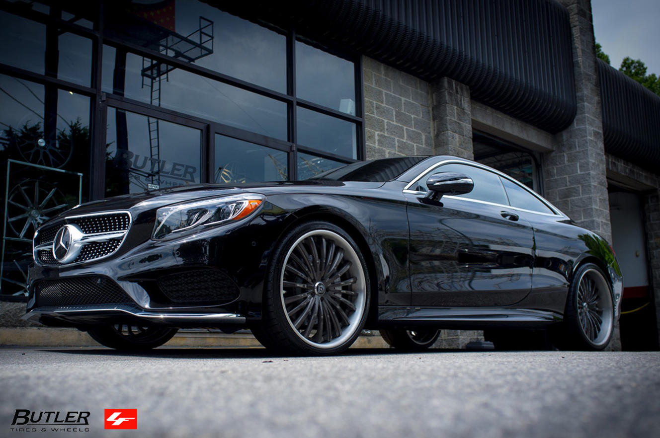 2016 Mercedes S550 Coupe on LF-722