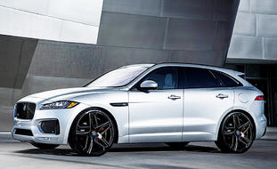Jaguar F Pace on Bavaria BG Finish