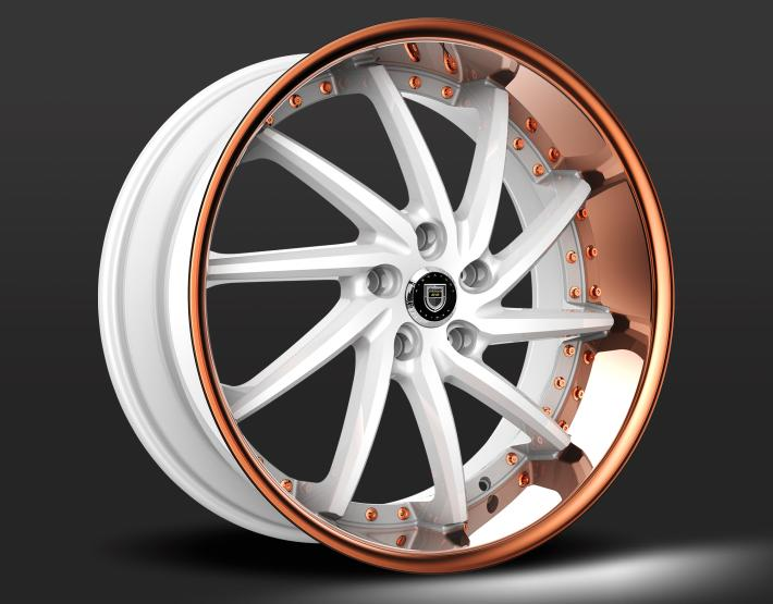 Custom - White and Copper