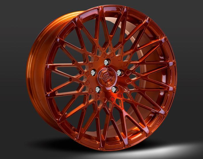 Custom - Full copper finish.
