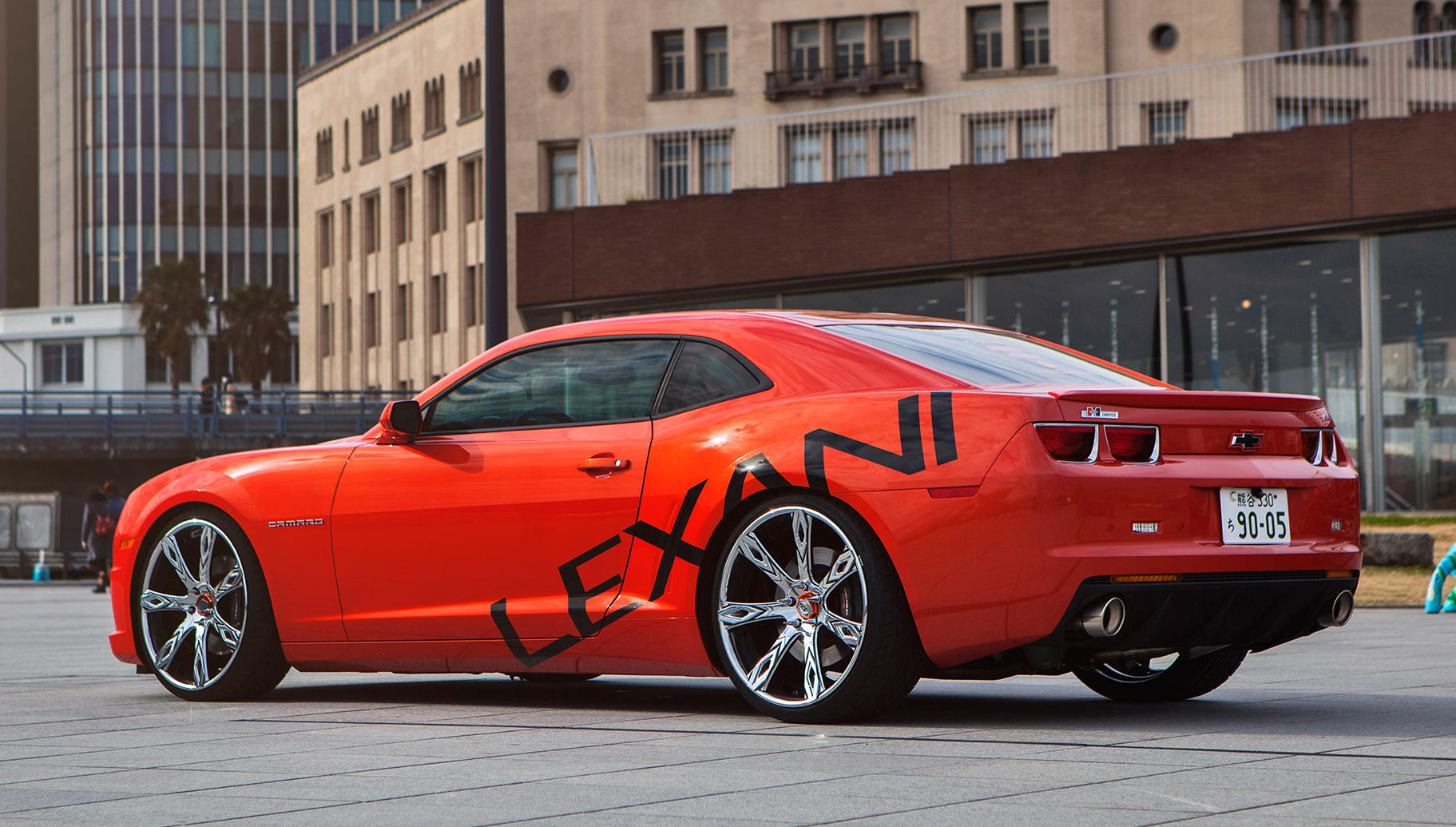 Custom LZ-Deco on the Chevrolet Camaro.