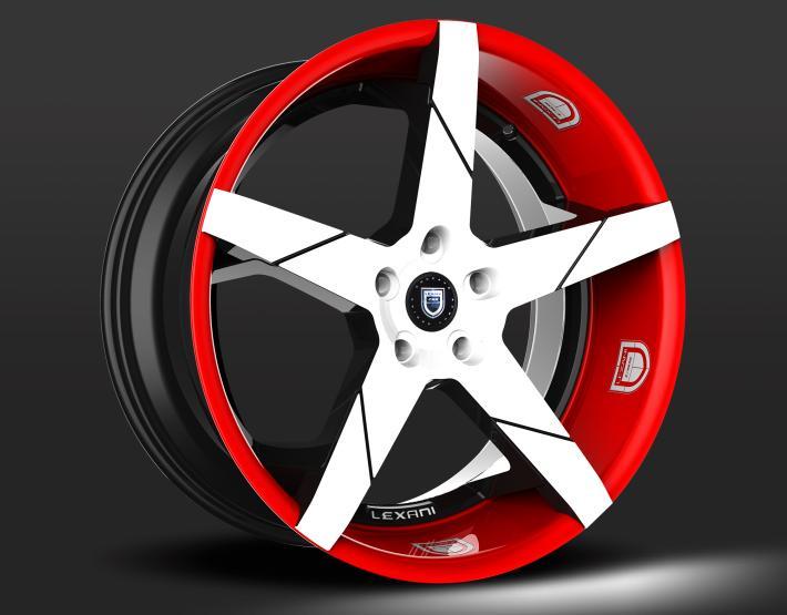 Custom - Red and White finish.
