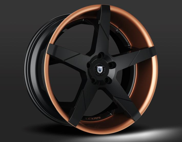 Custom - Black and Copper Finish