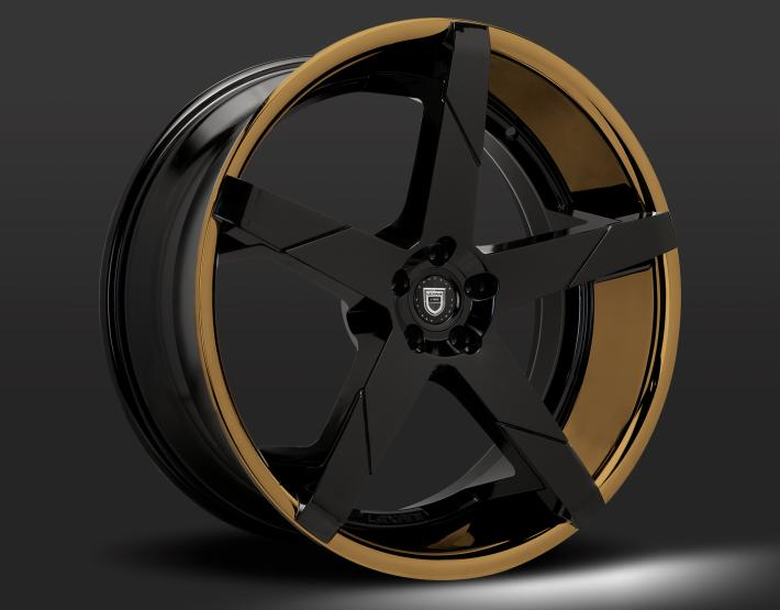 Custom - Bronze and Black finish.