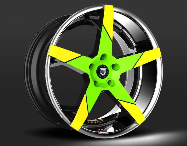 Custom - Green and Yellow finish.